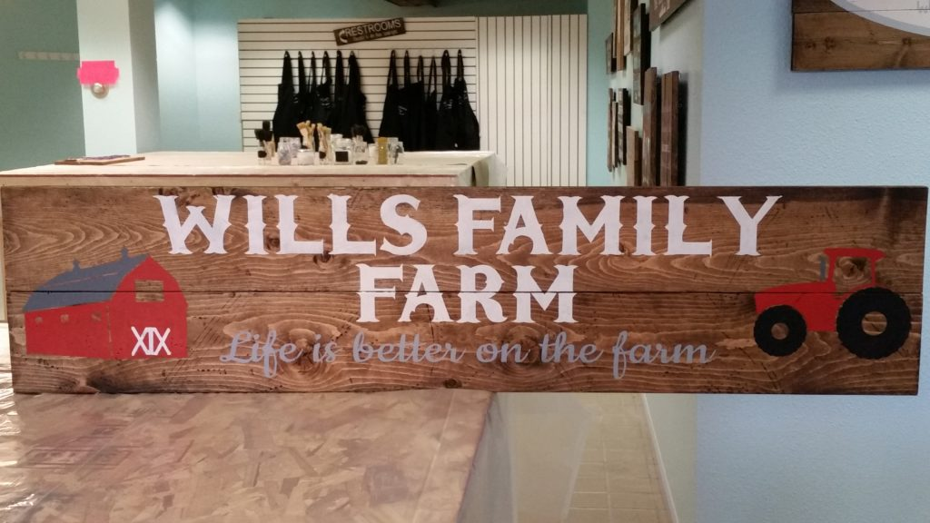 303 - WIDE - Wills Family Farm Personalized