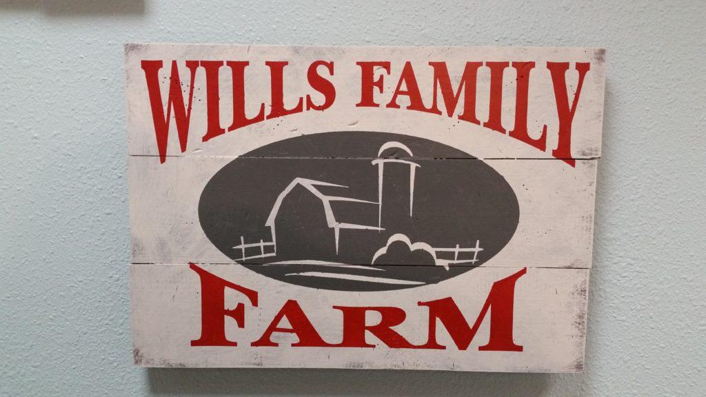 296 - SQUARE - Wills Family Farm Personalized