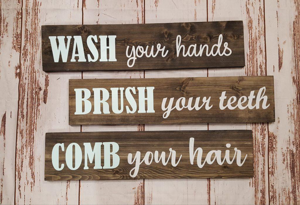 263 - Wash, Brush, Comb