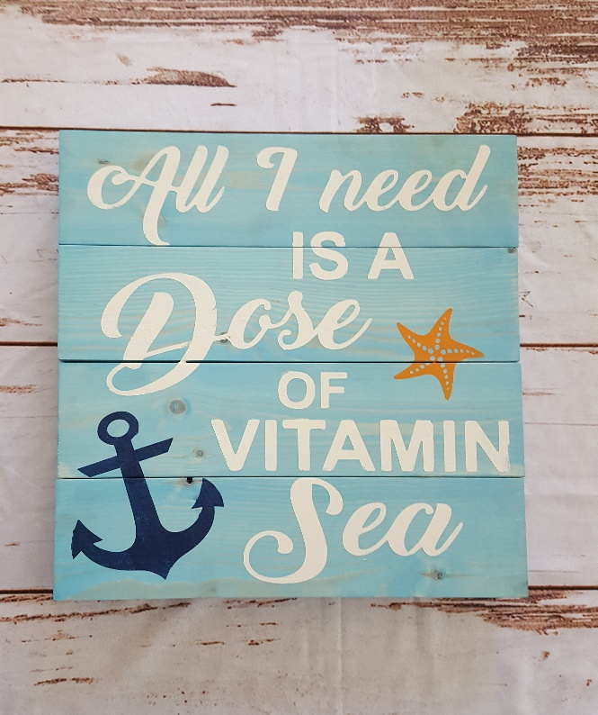 800 - All I Need is a Dose of Vitamin Sea
