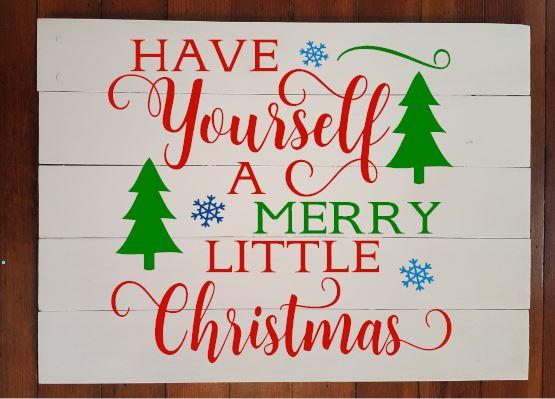 409 - Trees - Merry Little Christmas