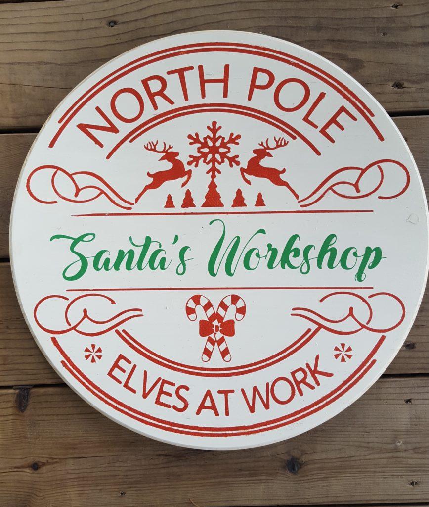 393 - Round Santa's Workshop