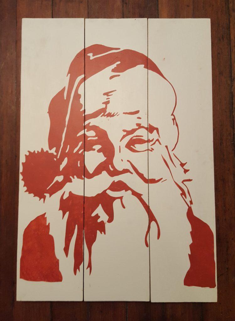 392 - Santa Face