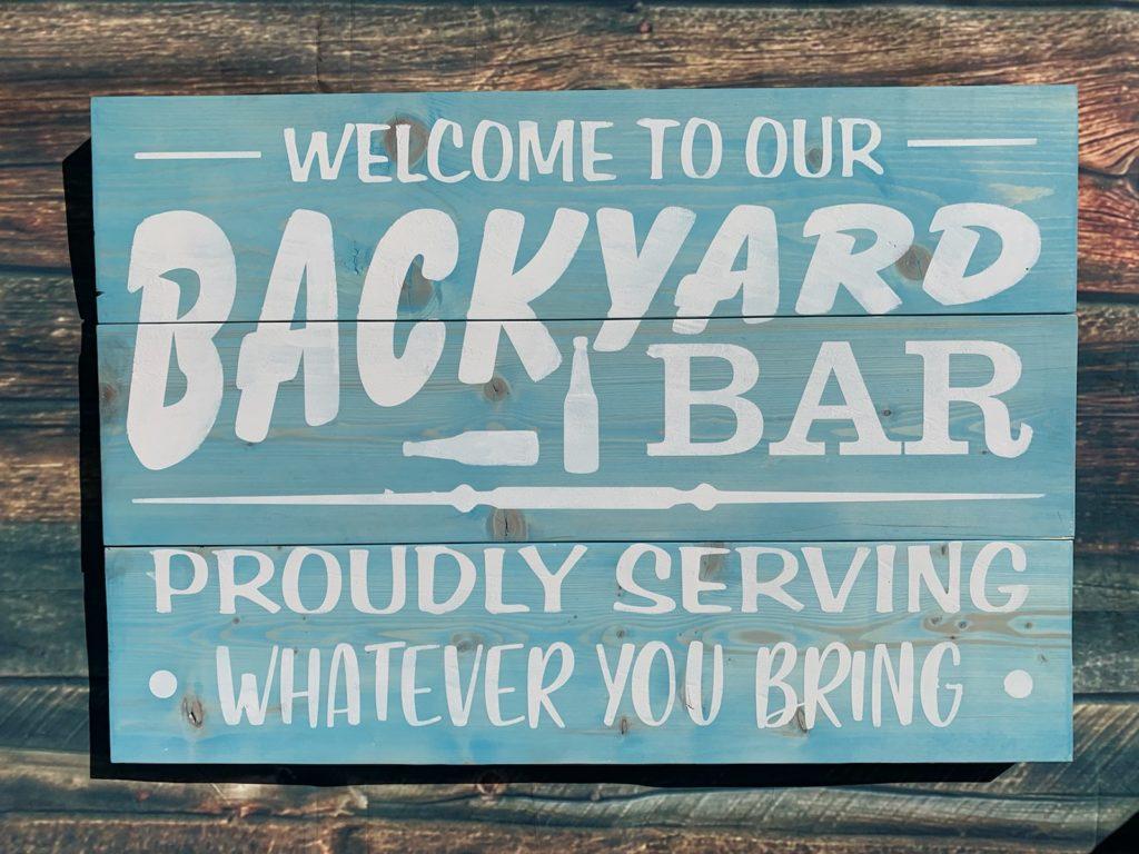 223 - Backyard Bar