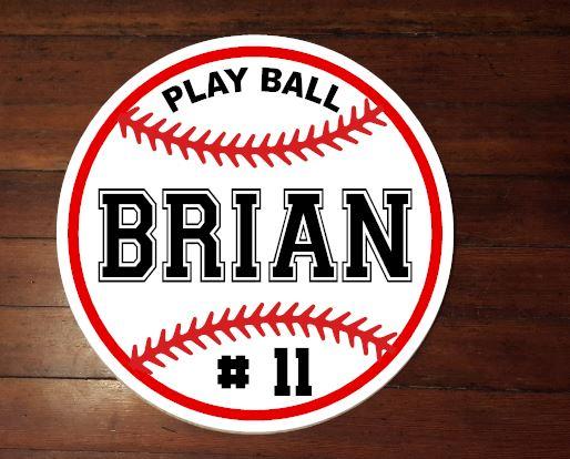 220 - Baseball Personalized