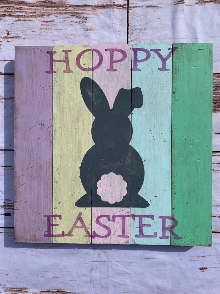 431 - Hoppy Easter-SQUARE