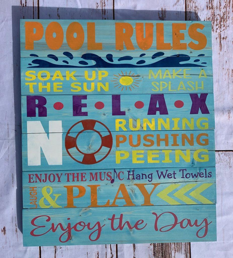 225 - Pool Rules