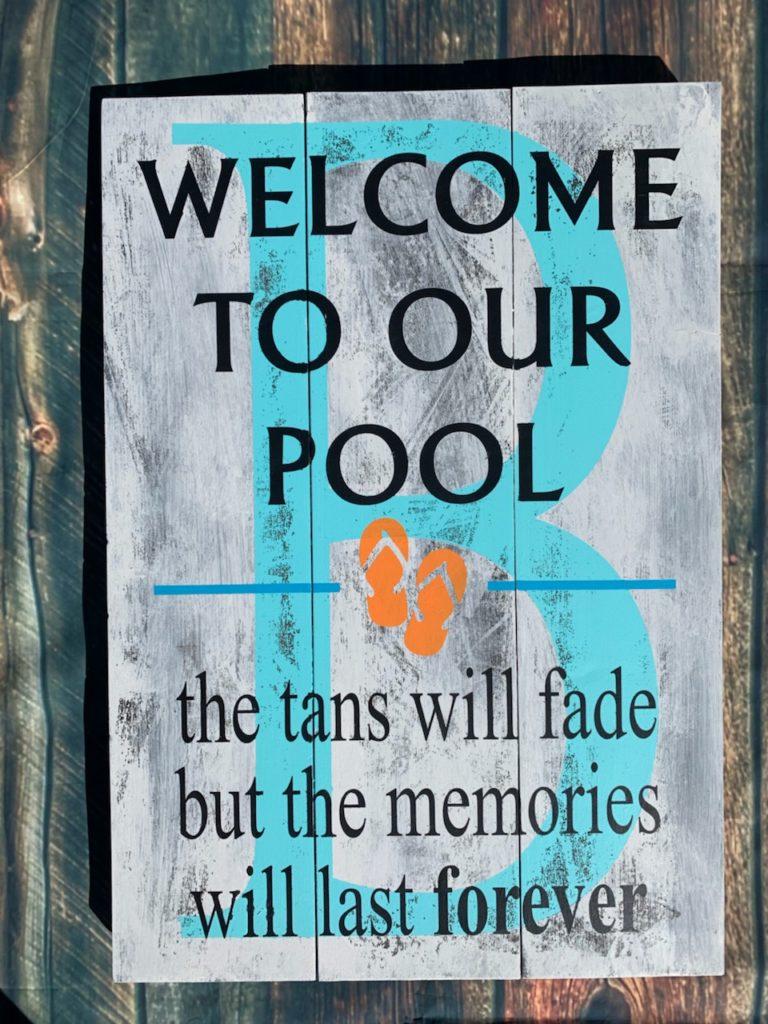 226 - Pool Tans