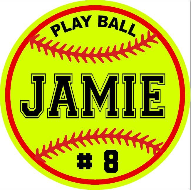 221 - Softball Personalized