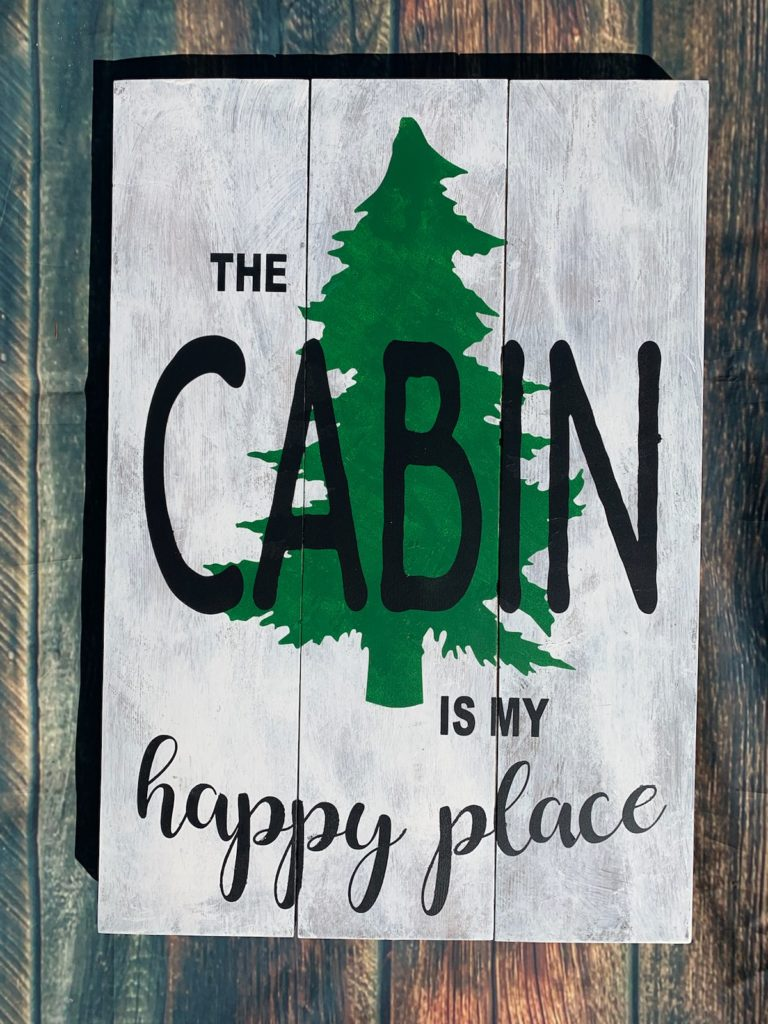 232 - Cabin is my happy