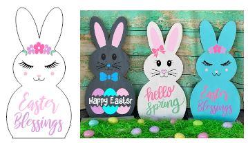 433 - Bunny-Easter Blessings