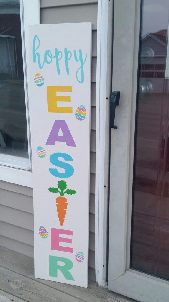 102 - Porch - Carrot - Hoppy Easter