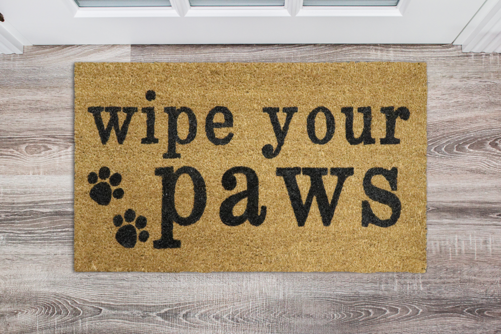 924 - wipe your paws