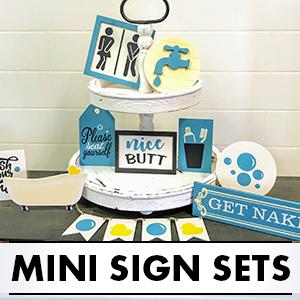 Mini Sign Sets