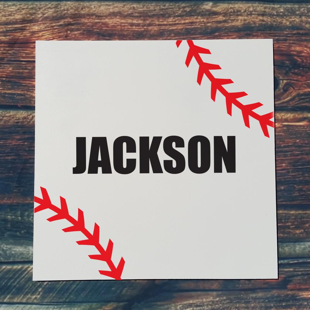 533 - Baseball Name (Personalize)