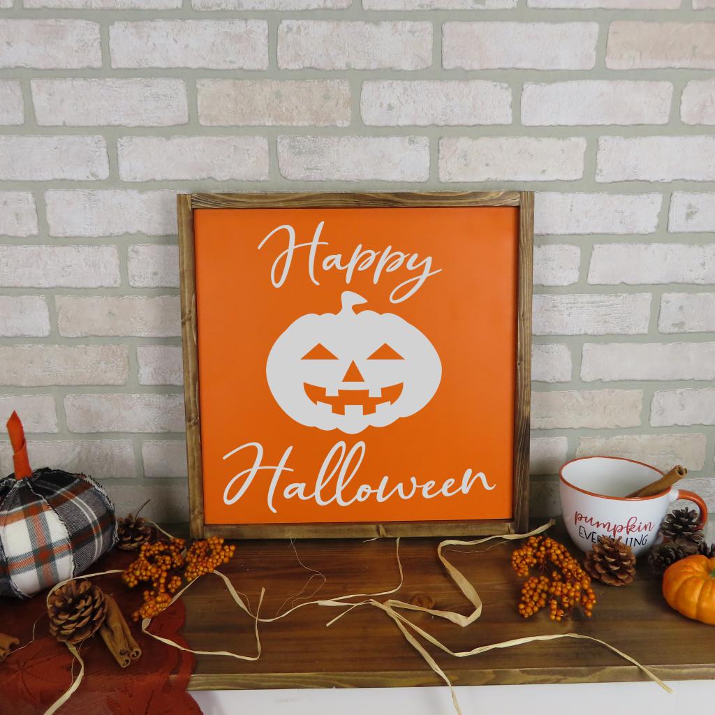 663 - Happy Halloween Jack o'lantern