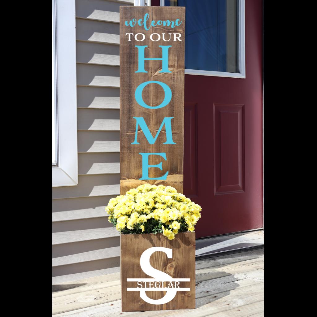 451 - Home Initial Planter