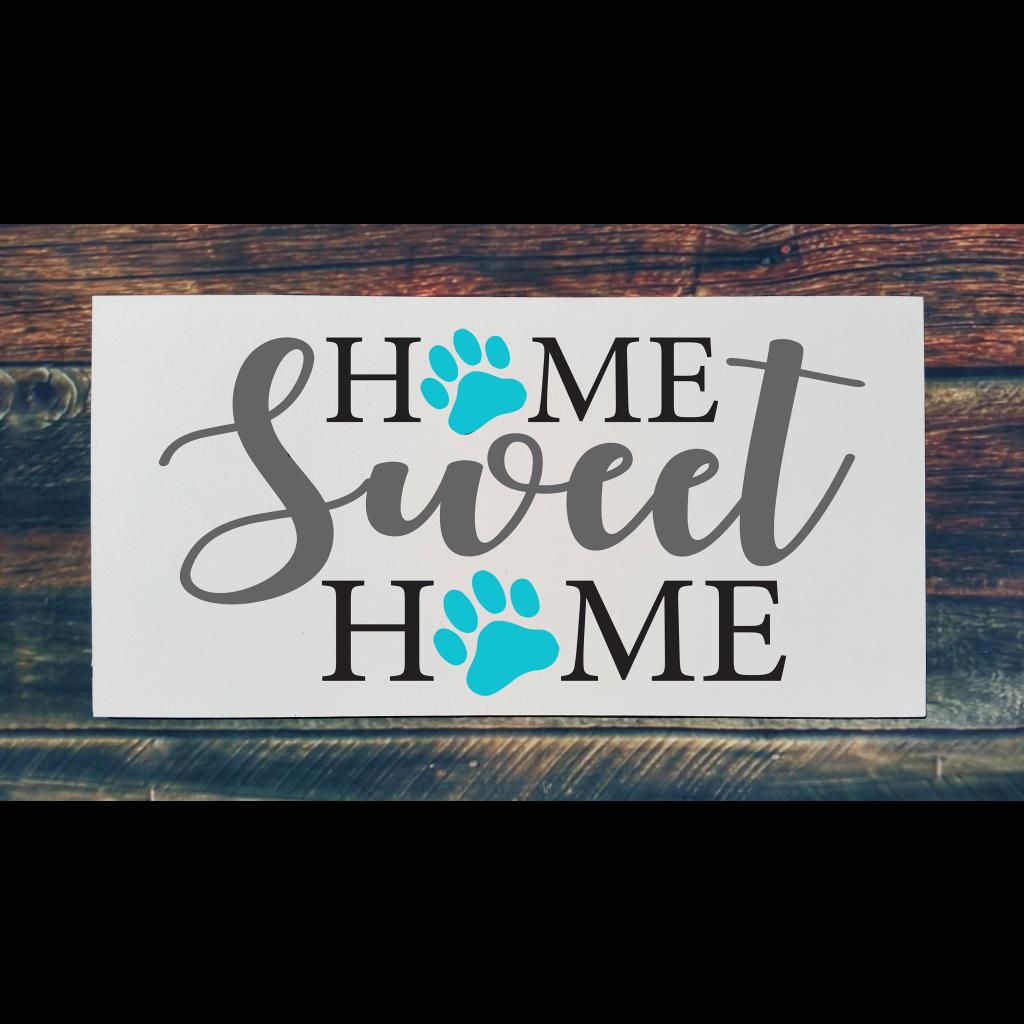516 - Home Sweet Home Paw Print