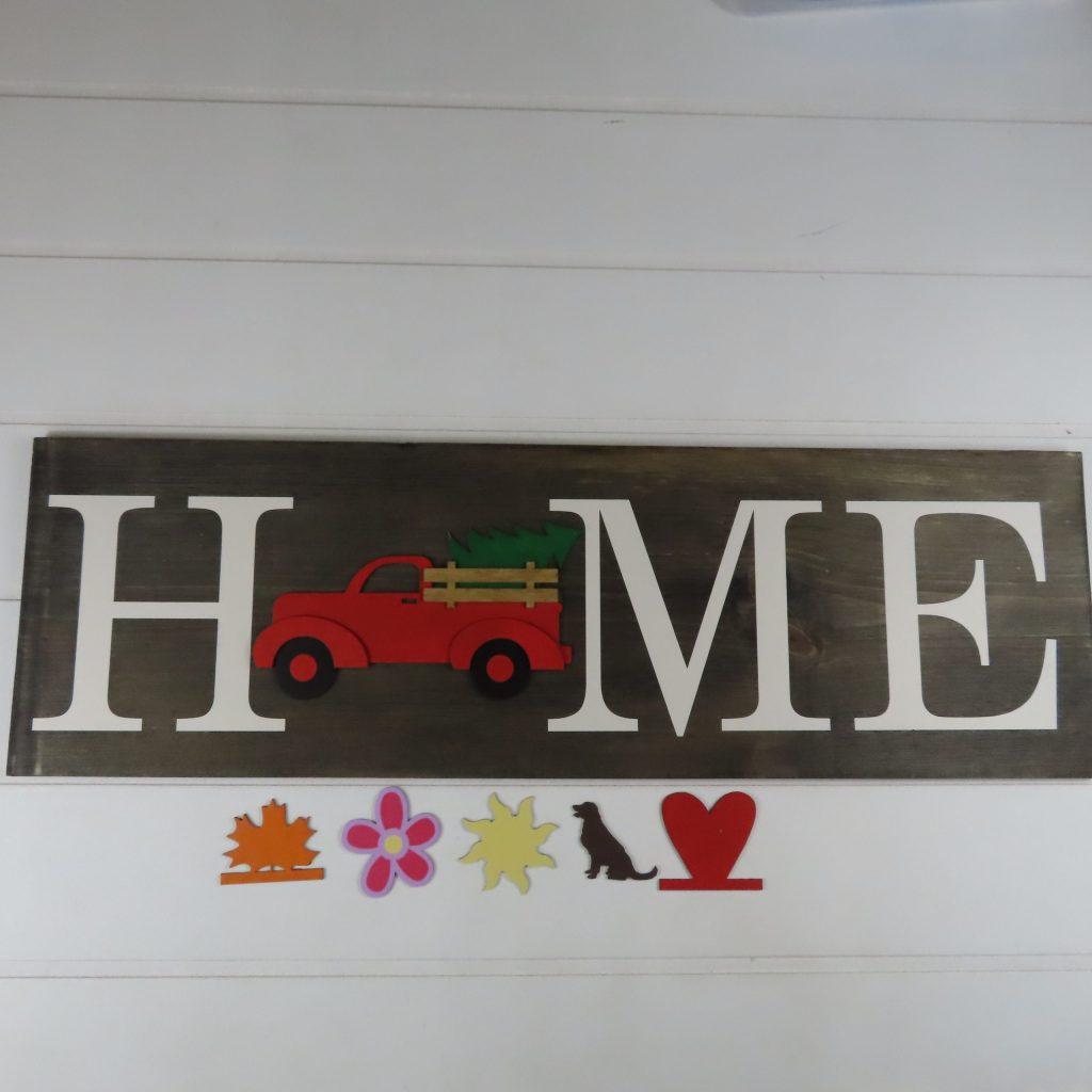 161 - Home 3D Truck with interchangable pieces