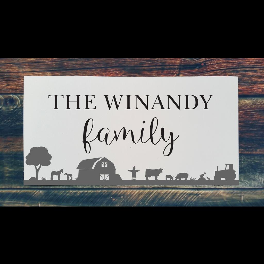 522 - Family Name Farm (Personalize)