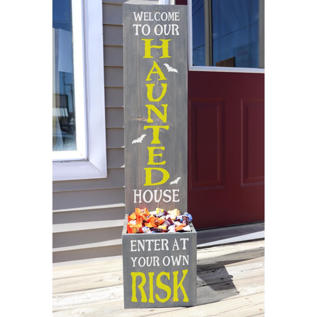 455 - Enter at your risk Planter